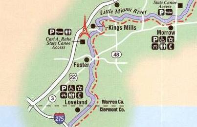 Bike Trails In Ohio Map.Ohio My Bike Path